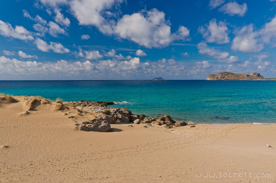 Пляж Фалассарна | Falassarna beach
