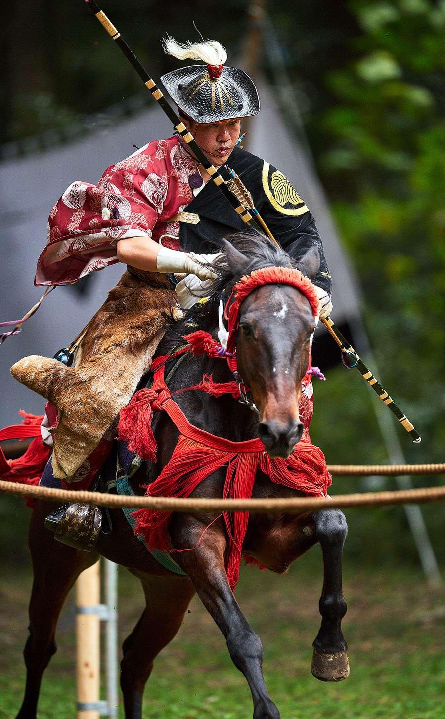 Стреляем из лука на полном скаку: Потомки японских самураев (20)