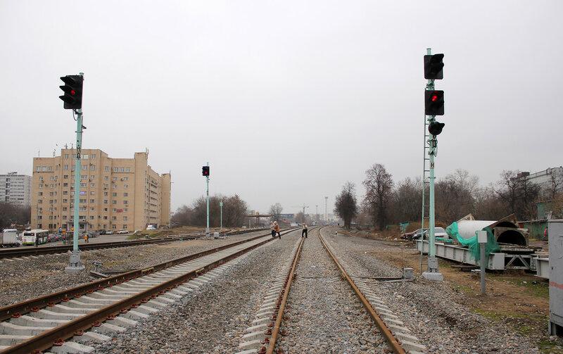 Нечётные входные станции Ростокино