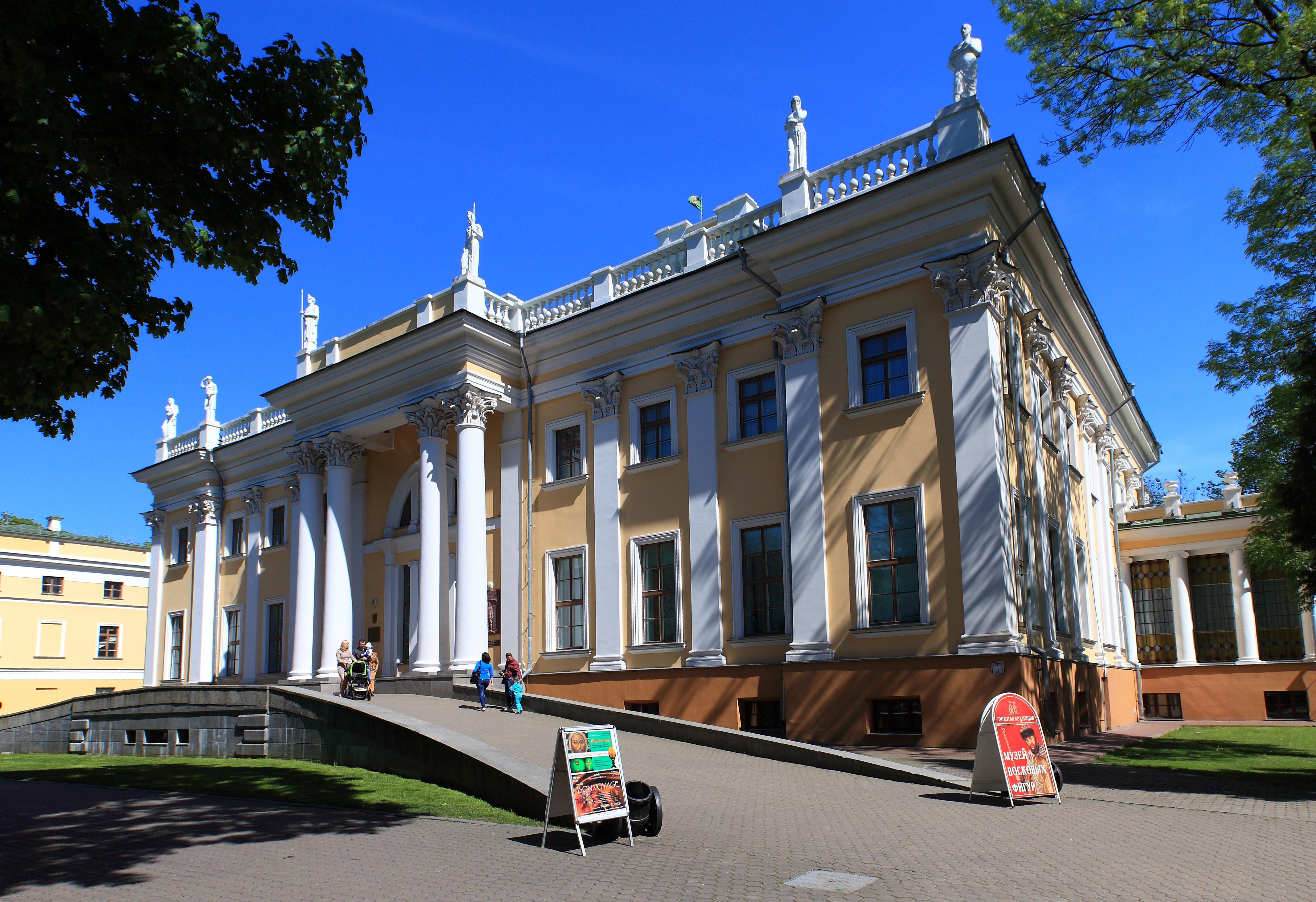 гомельский дворцово парковый ансамбль фото