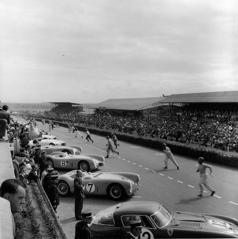 1953. Начало гонок Ле-Ман