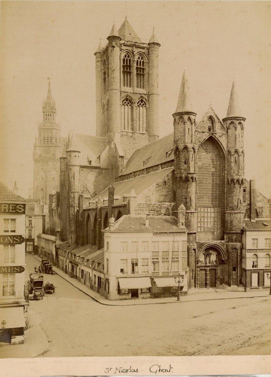 Гент. Церковь Святого Николая