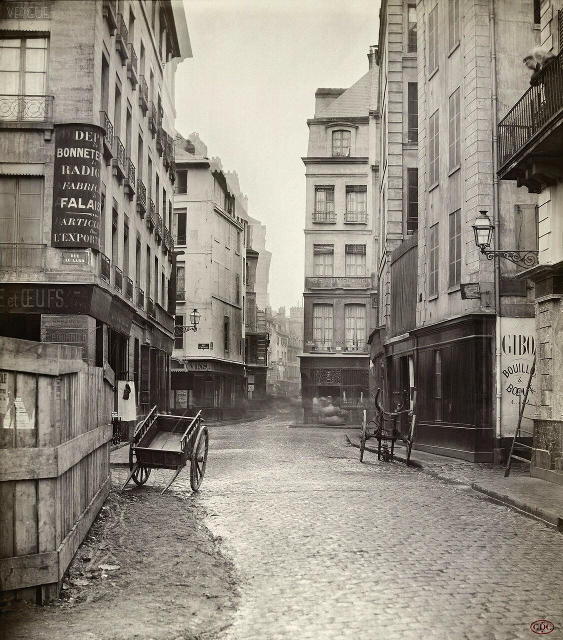 Рю дэ Бурдонэ. 1865