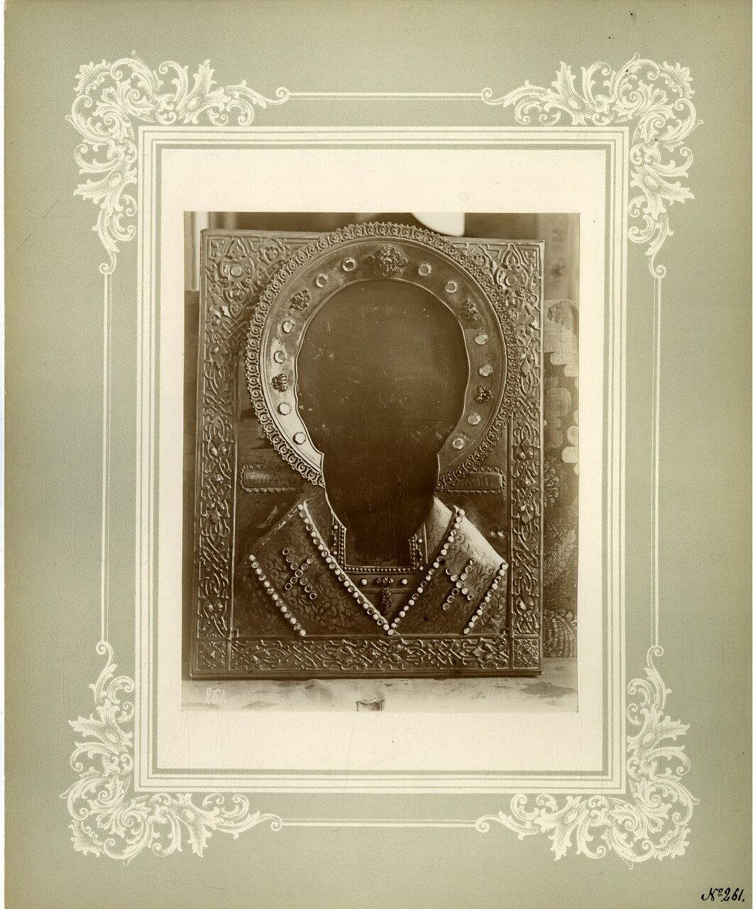 15. Древняя икона св. Николая чудотворца