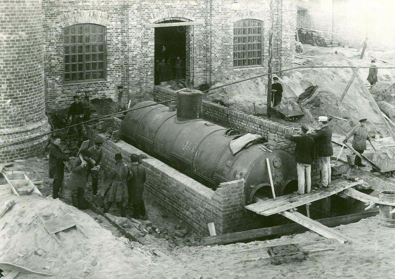 03. Строительство цеха стекольного завода
