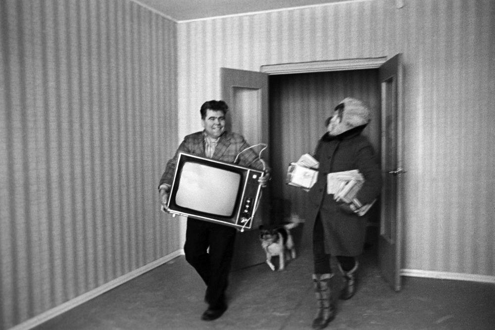 1976. Заселение в новую квартиру в Орехово-Борисово