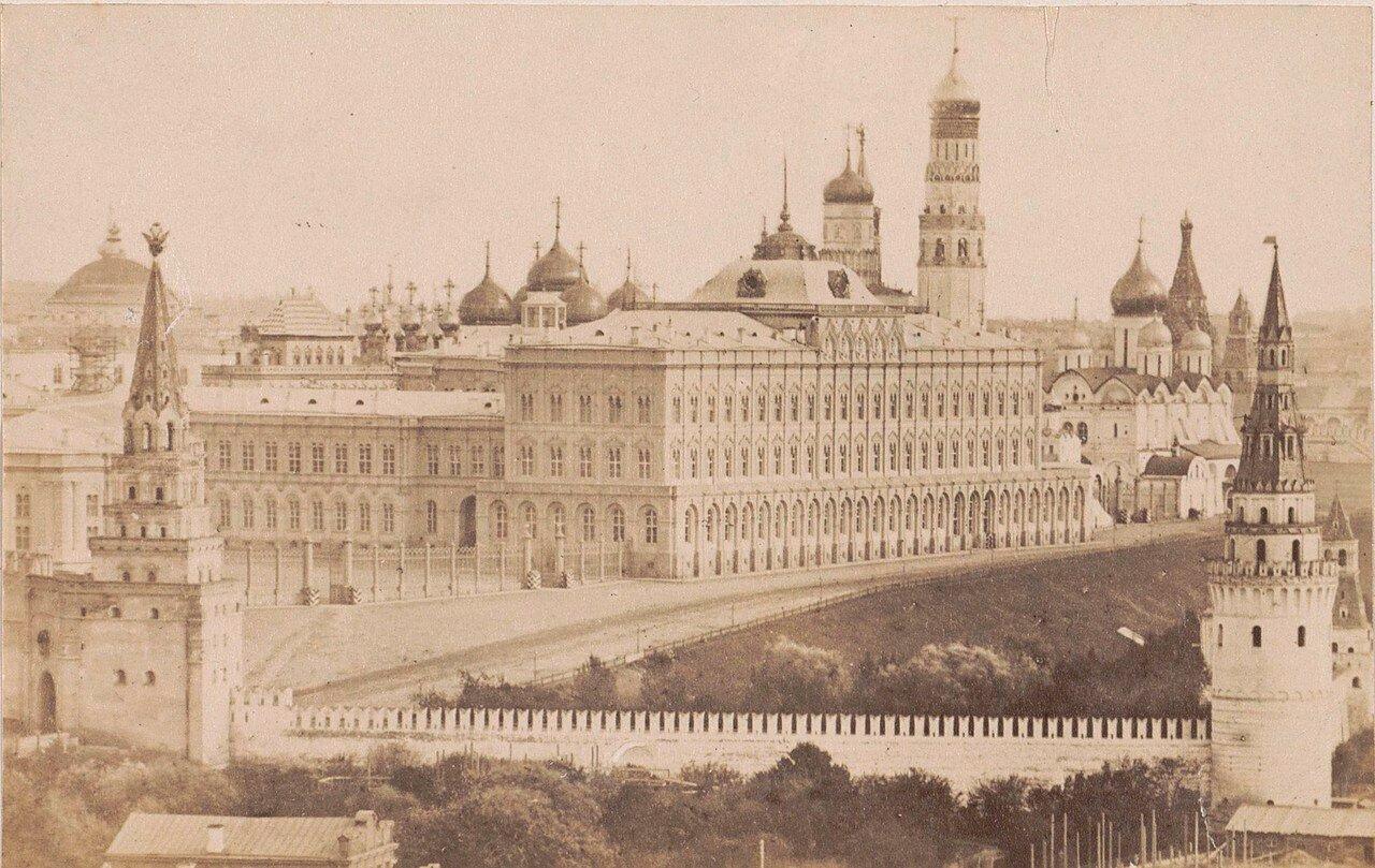 418. Вид на Кремль. 1878