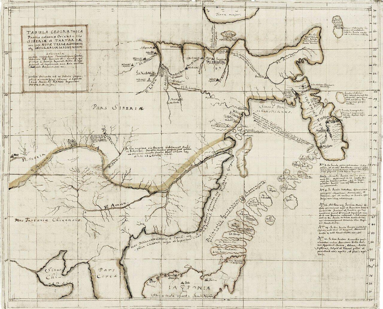 37. Карта Дальнего Востока