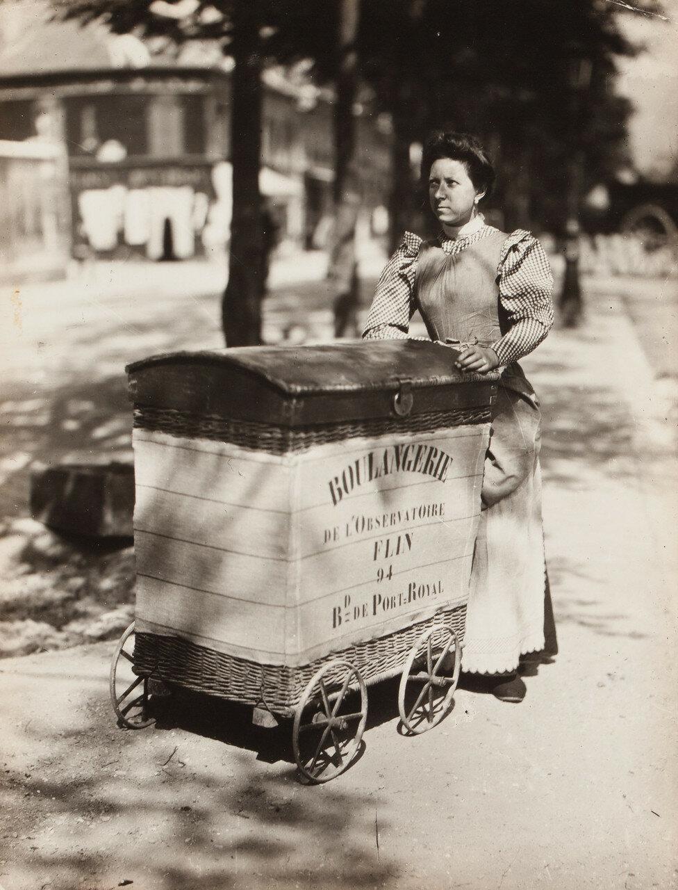 1899. Тележка булочника