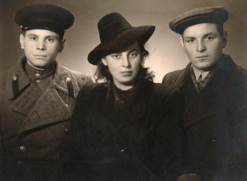 Старшая сестра Валентина с мужем