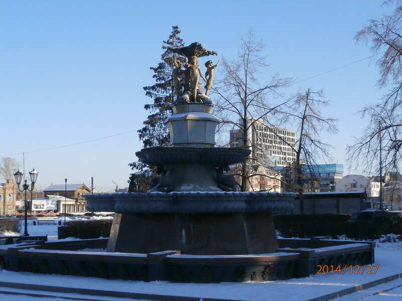 Фонтан на ул. Кирова