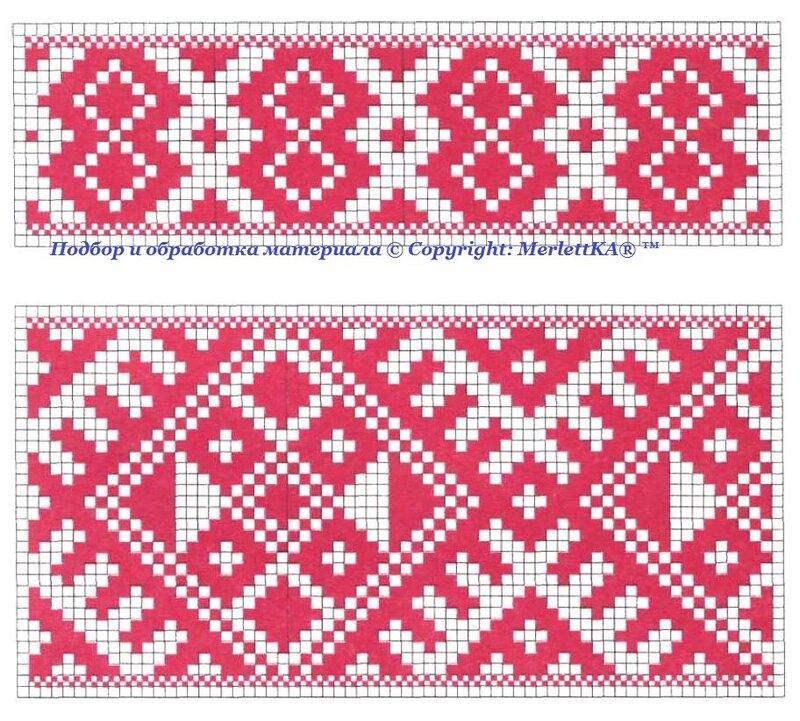 Вышивка крестом схемы этническая вышивка