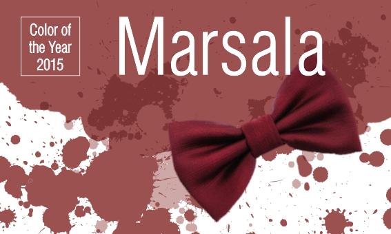 Marsala – цвет 2015 года