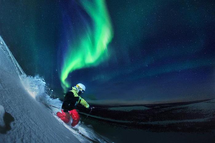 Красивые фотографии полярного сияния 0 10d636 b9aa912d orig