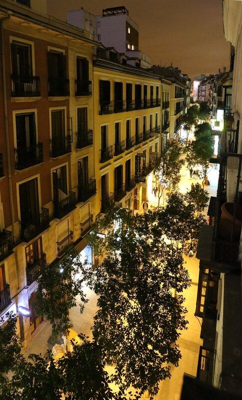 Мадрид. Hostal Veguin
