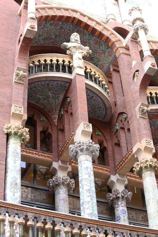 Palace of Catalan music (Palau de la Música Catalana), Barcelona