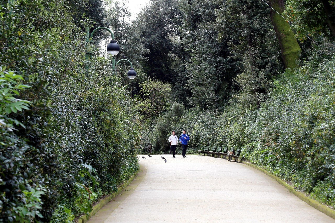Неаполь. Парк виллы Флоридиана (Parco di Villa Floridiana)