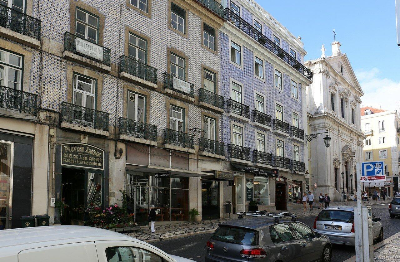 Lisbon. Rua Garrett