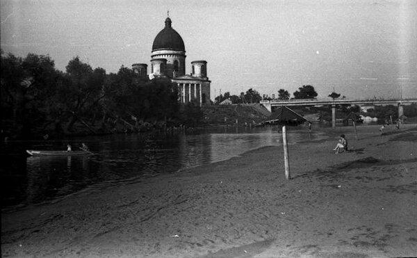 Троицкий собор. Фото 1960-1970-х гг.