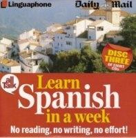 Аудиокнига All talk: Learn spanish in a week mp3 (128 кбит/сек, 44 кгц) в архиве rar  422,91Мб