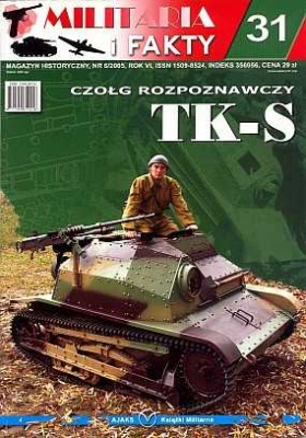 Журнал Militaria i Fakty No 31. Clog rozpoznawczy TK-S