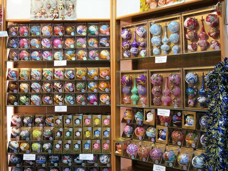 Магазин ёлочных игрушек
