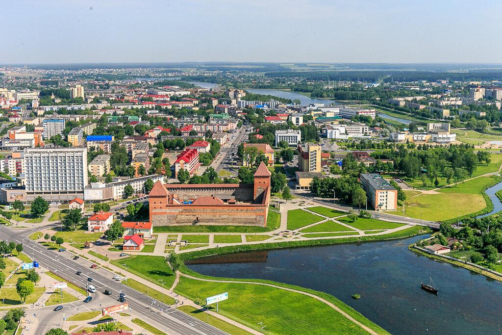 Беларусь с вертолёта - Лида