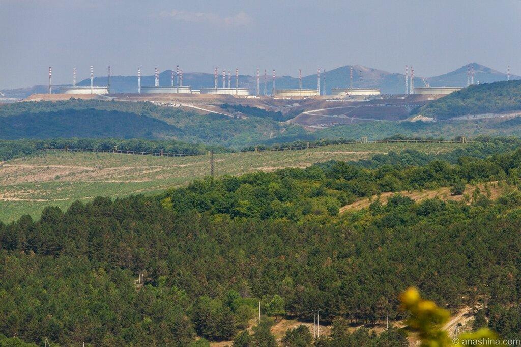 Нефтехранилище Каспийского Трубопроводного Консорциума (КТК-Р)