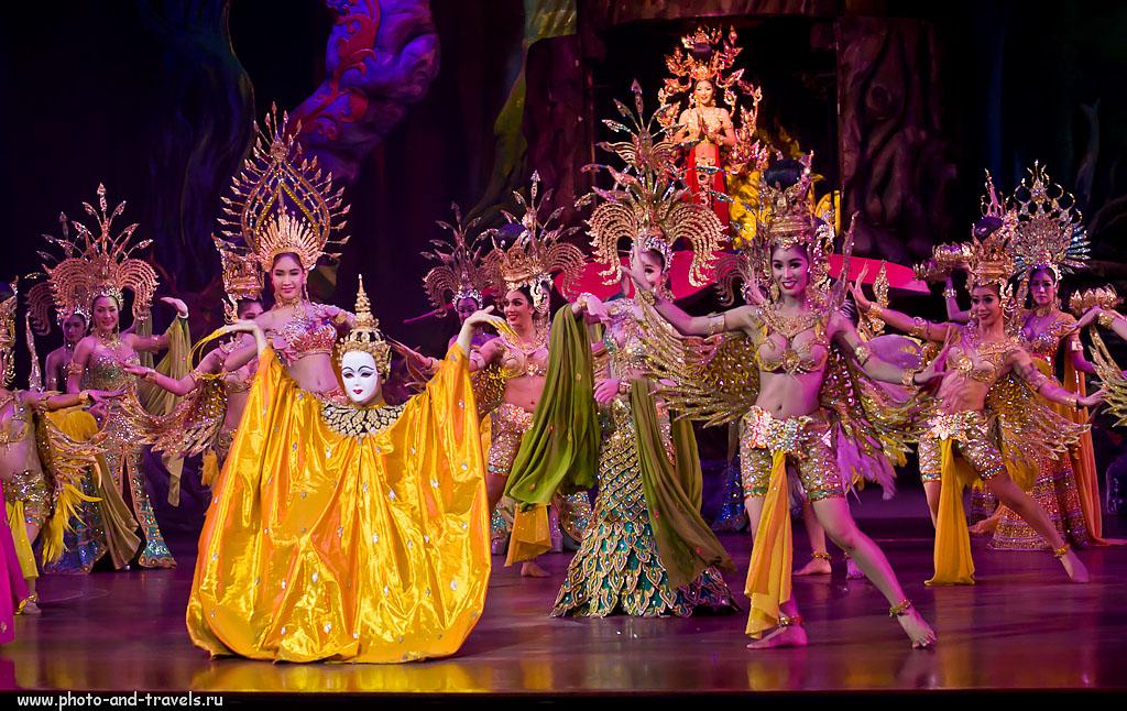 """5. Съемка концерта """"Альказар Шоу"""" на Nikon D5100. Первый опыт - с трансвеститами... :) Отзывы туристов из России об отдыхе в Паттайе. Вторая поездка в Таиланд самостоятельно."""