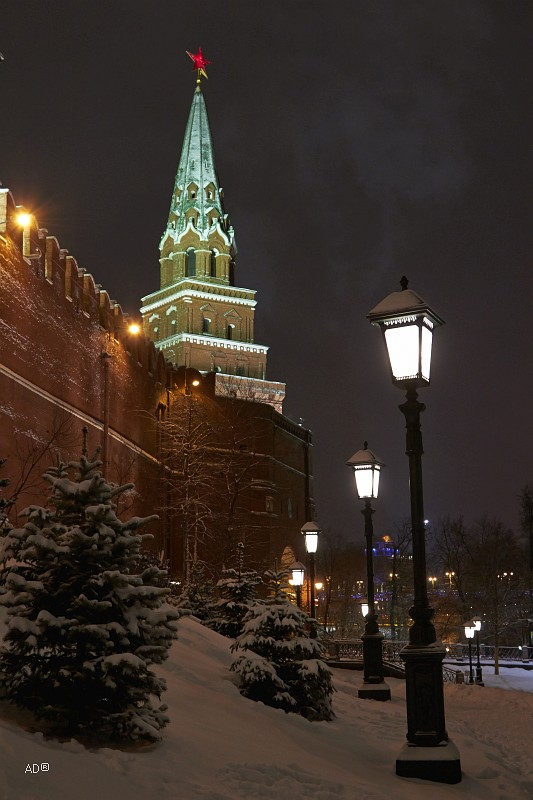 Ночная Москва
