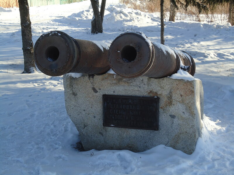 Бийск. Пушки бийской крепости