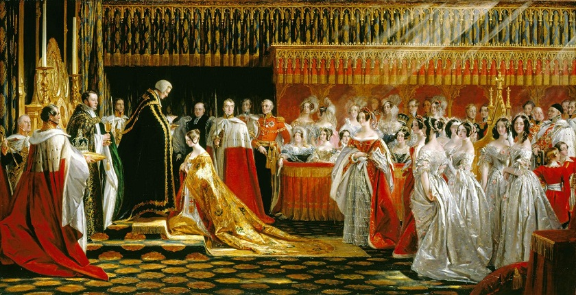 Charles Robert Leslie (1794-1859)Queen Victoria Receiving the Sacrament at her Coronation, 28 June 1838
