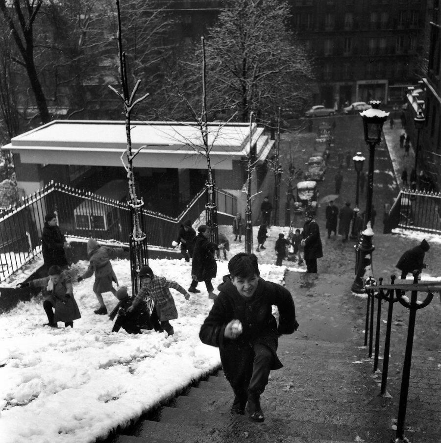 1958. Лестницы Монмартра