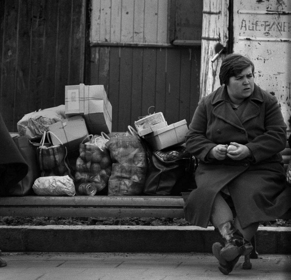 Площадь Революции. 1970-е
