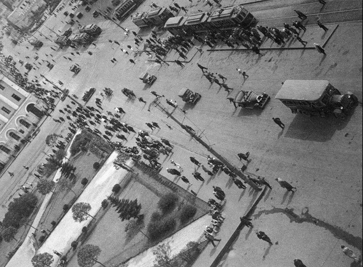 1930-е. Площадь Свердлова