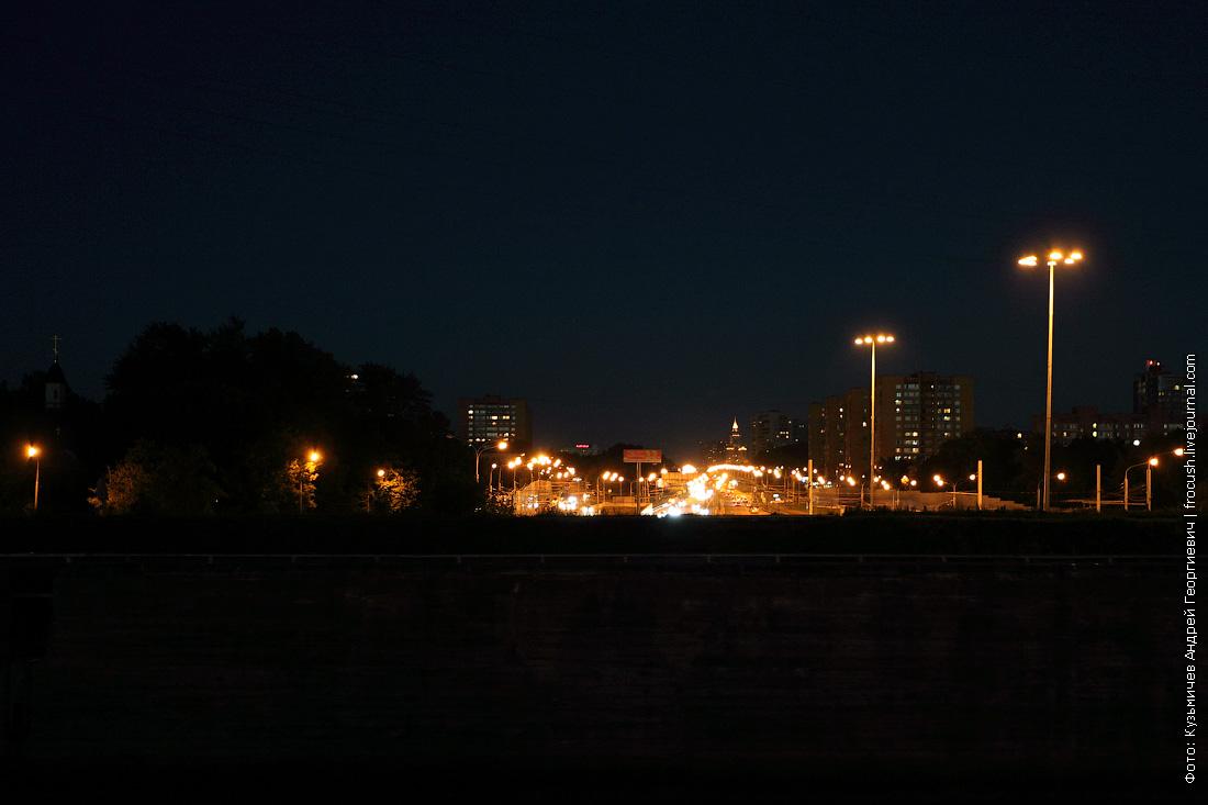 шоссе под каналом имени Москвы