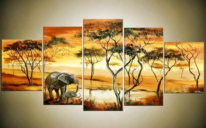 Африканский стиль_Мама и слонёнок.jpeg
