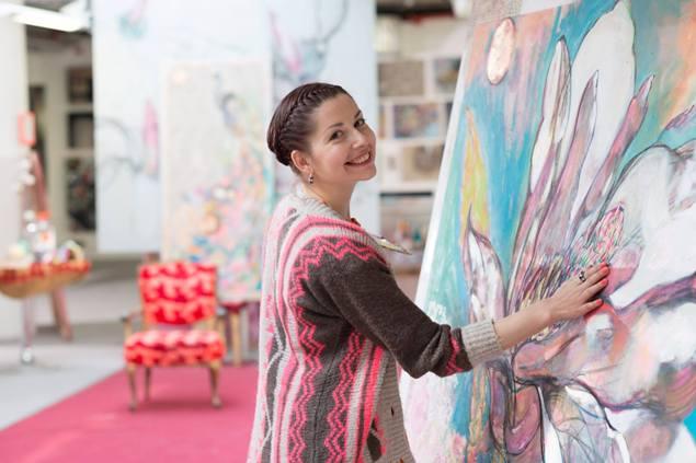 Карине Паронянц в студии