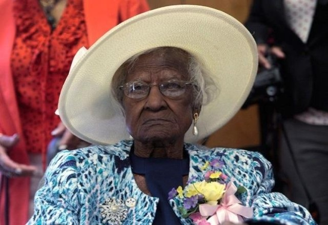 С 1 апреля самой старой женщиной планеты стала 116 летняя Гертруда Уивер 0 12e659 6531566e orig