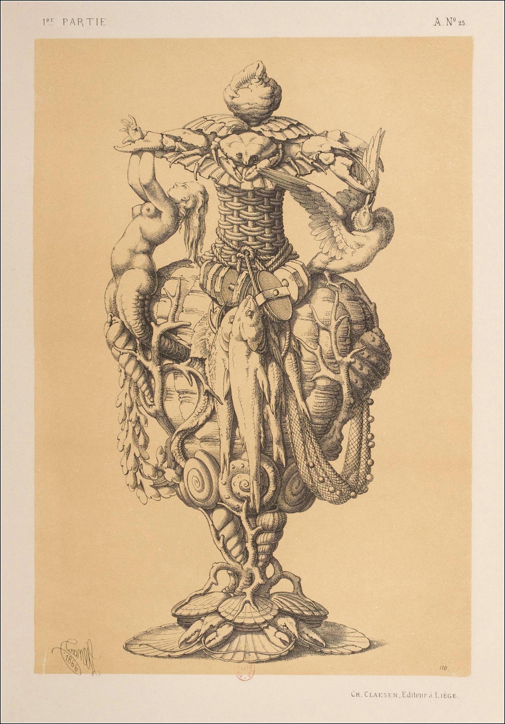 Michel Liénard, Specimens de la décoration