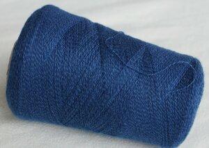 3629. Кашемир Синий с голубым мулине.JPG