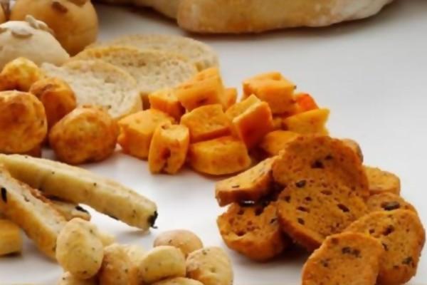Крутоны из моркови