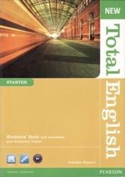 New Total English Starter (student's book, audio, wordlist, DVD)