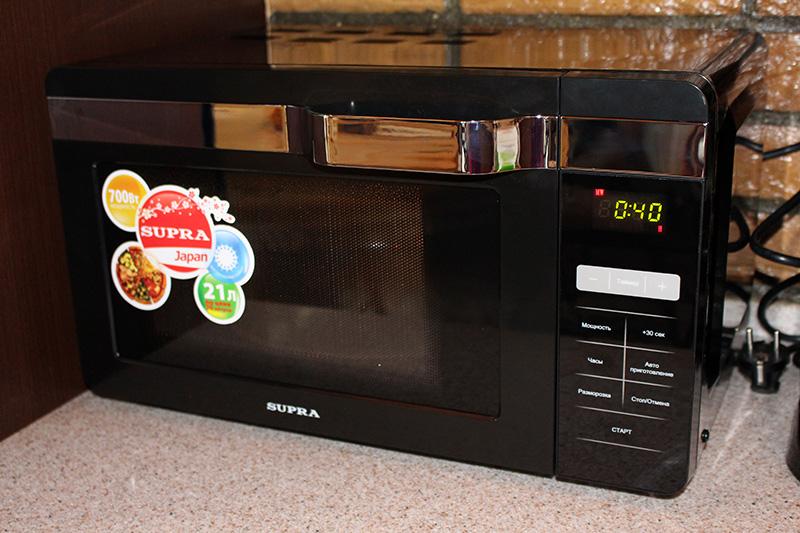 SUPRA MWS-2133SB, SUPRA, микроволновая печь, микроволновка, недорогая микроволновка