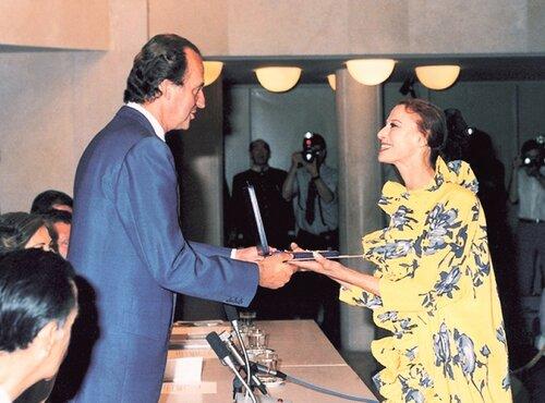 Испанский король Хуан Карлос и Майя Плисецкая .jpg
