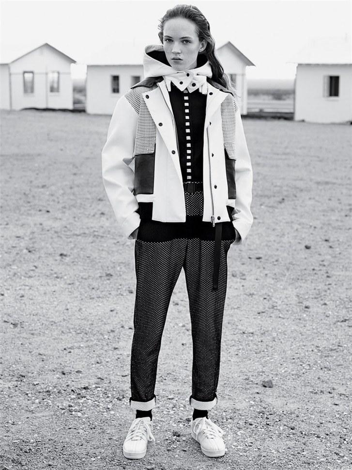 Адриэн Юлигер и Айа Джонс / Adrienne Juliger & Aya Jones by Karim Sadli for T Magazine Women's Fashion Spring 2015