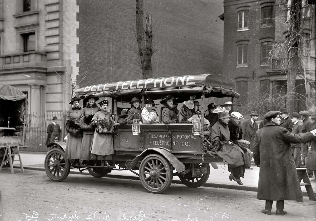 Специализированные транспортные средства начала 20-го века на снимках американских фотографов (16)