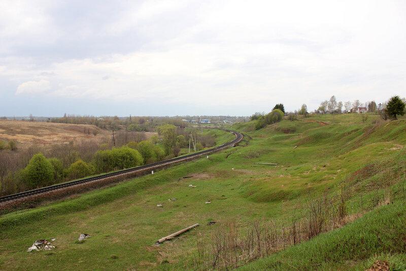 На приближении к станции Зубцов
