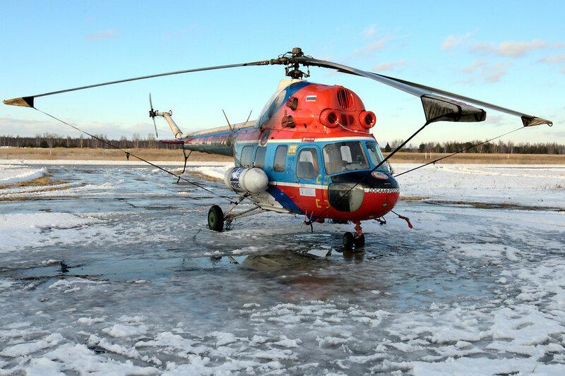 Ми-2 RF-00522 ДОСААФ России