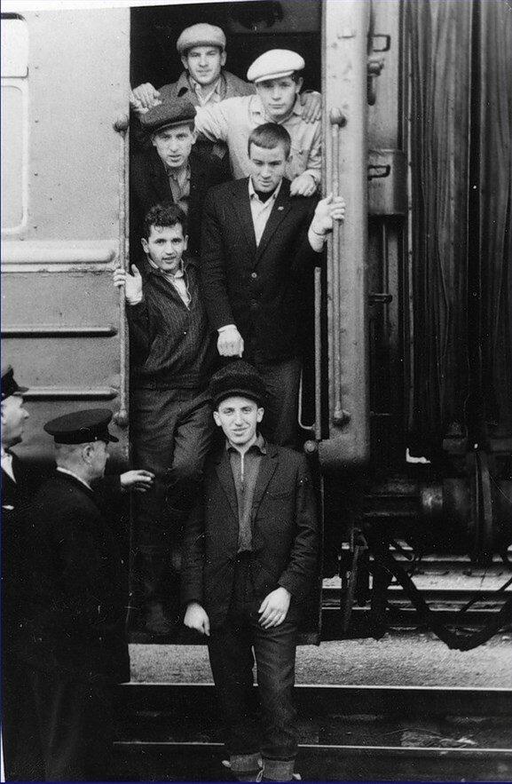 1966. Стоянка в Челябинске по пути в Казахстан